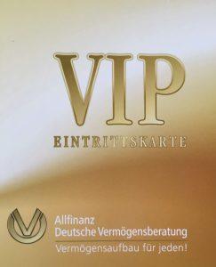 VIP-Eintrittskarte